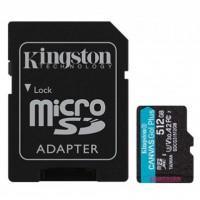 Карта пам'яті Kingston 512GB microSDXC class 10 UHS-I U3 A2 Canvas Go Plus (SDCG3/512GB)