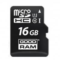 Карта пам'яті GOODRAM 16GB microSDHC Class 10 UHS-I (M1AA-0160R11)