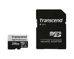 Карта пам'яті Transcend 256GB microSD class 10 UHS-I U3 A2 (TS256GUSD330S)