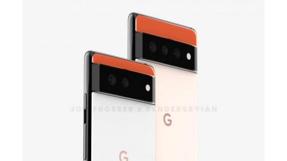 В сети появились изображения Google Pixel 6 и Pixel 6 Pro в принципиально новом дизайне