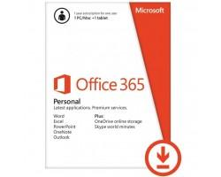 Офісний додаток Microsoft Office 365 Personal 32/64 AllLngSub PKLic 1YR Online Конверт (QQ2-00004-ESD)