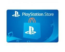 Карта онлайн поповнення SONY Playstation Store пополнения кошелька: Карта оплаты 2000 грн (9781417)