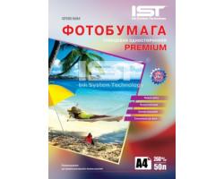 Фотопапір IST Premium глянцевий 260г/м, A4, 50л. (GP260-50A4)