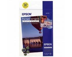 Папір EPSON 10х15 Premium Semigloss Photo (C13S041765)