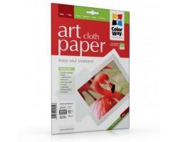 Папір ColorWay Letter (216x279mm) ART, glossy, cloth (PGA230010CLT)