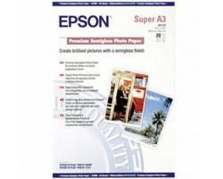 Папір EPSON A3+ Premium Semigloss Photo Paper (C13S041328)