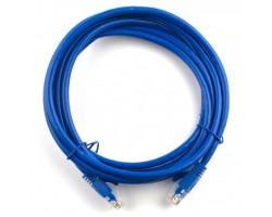 Патч-корд Ritar 0.5м, RJ-45, Cat.6, CU, медь, синий (03239)