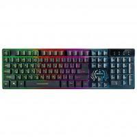 Клавіатура REAL-EL 7090 Comfort Backlit, black