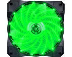 Кулер до корпусу 1stPlayer A1-15LED Green