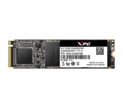 Накопичувач SSD M.2 2280 256GB ADATA (ASX6000PNP-256GT-C)