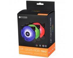 Кулер до корпусу ID-Cooling DF-12025-RGB Trio (3pcs Pack) (DF-12025-RGB Trio)