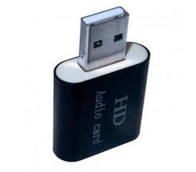 Звукова плата Dynamode USB-SOUND7-ALU black