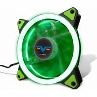 Кулер до корпусу Frime Iris LED Fan Single Ring Green (FLF-HB120GSR)