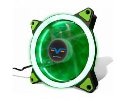 Кулер до корпусу Frime Iris LED Fan Single Ring Green (FLF-HB120GSR)
