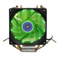 Кулер до процесора Cooling Baby R90 GREEN LED