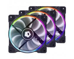 Кулер до корпусу ID-Cooling ZF-12025-RGB Trio (3pcs Pack) (ZF-12025-RGB Trio)