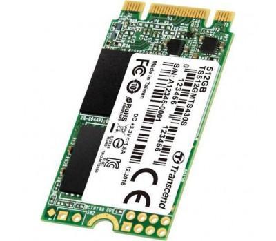 Накопичувач SSD M.2 2242 512GB Transcend (TS512GMTS430S)