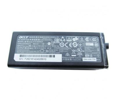 Блок живлення до ноутбуку Acer 45W 19V, 2.37A, разъем 5.5/1.7 (A13-045N2A / A40241)