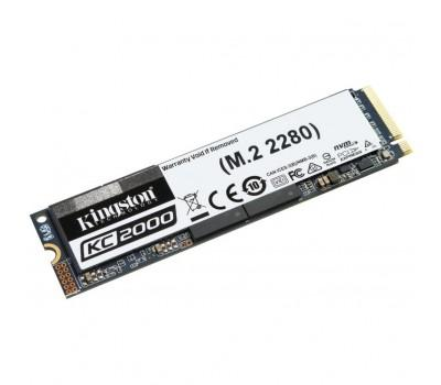 Накопичувач SSD M.2 2280 500GB Kingston (SKC2000M8/500G)