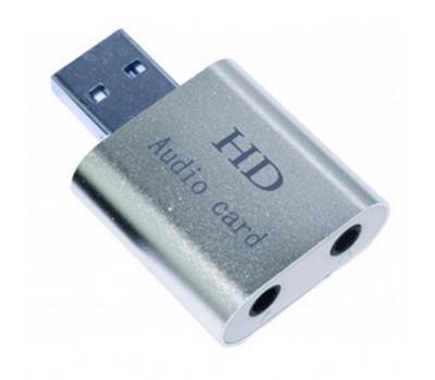 Звукова плата Dynamode USB-SOUND7-ALU silver
