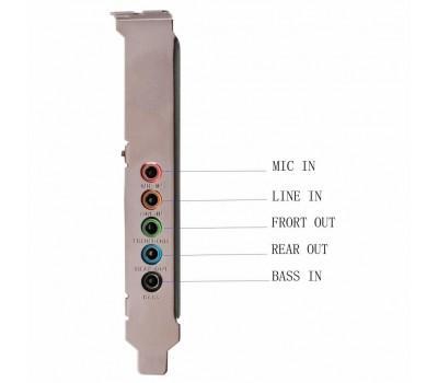 Звукова плата Manli C-Media 8738 PCI-E 6(5.1) каналов bulk (M-CMI8738-PCI-E)