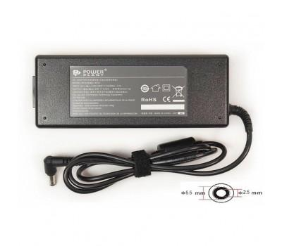 Блок живлення до ноутбуку PowerPlant ASUS 220V, 19V 120W 6.32A (5.5*2.5) (AS120F5525)
