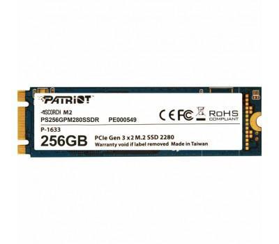 Накопичувач SSD M.2 2280 256GB Patriot (PS256GPM280SSDR)