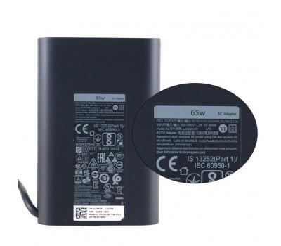 Блок живлення до ноутбуку Dell 65W Oval 20V разъем Type-C (HA65NM170 / A40243)