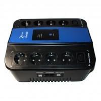 Пристрій безперебійного живлення Ritar U-Smart-1000 (600W) (RS628U)