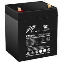 Батарея до ДБЖ Ritar AGM RT1245, 12V-4.5Ah, Black (RT1245B)