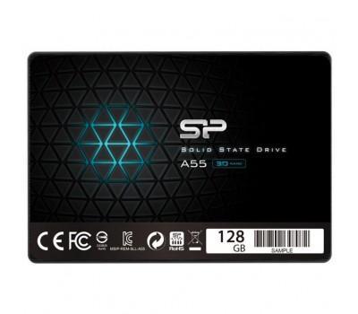 """Накопичувач SSD 2.5"""" 128GB Silicon Power (SP128GBSS3A55S25)"""