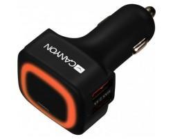Зарядний пристрій CANYON Universal 4xUSB car adapter (CNE-CCA05B)