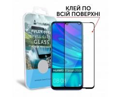 Скло захисне MakeFuture для Huawei P Smart 2019 Black Full Cover Full Glue (MGFCFG-HUPS19)