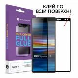 Скло захисне MakeFuture Sony Xperia 10 Full Cover Full Glue (MGF-SOX10)