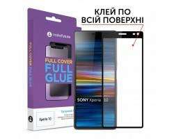 Скло захисне MakeFuture Sony Xperia 10 Full Cover Full Glue (MGF-SOX10)