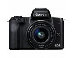 Цифровий фотоапарат Canon EOS M50 15-45 IS STM Kit black (2680C060)