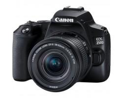 Цифровий фотоапарат Canon EOS 250D kit 18-55 IS STM Black (3454C007)