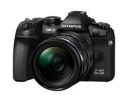 Цифровий фотоапарат OLYMPUS E-M1 mark III 12-40 Kit black/black (V207101BE000)