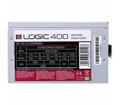 Блок живлення LOGIC CONCEPT 400W (ZAS-LOGI-LC-400-ATX-PFC)