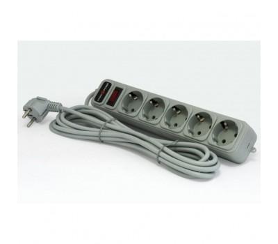 Мережевий фільтр живлення LogicPower LP-X5 (3302)