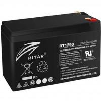 Батарея до ДБЖ Ritar AGM RT1290B, 12V-9Ah, Black (RT1290B)