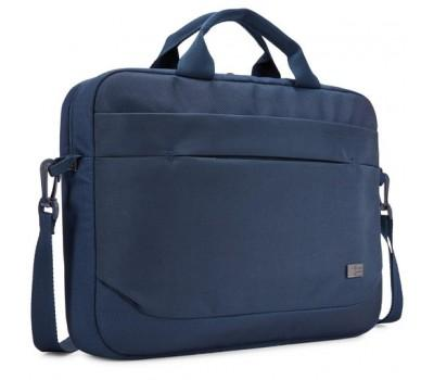 "Сумка для ноутбука CASE LOGIC Advantage Attache 14"" ADVA-114 (Dark Blue) (3203987)"