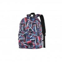 Рюкзак для ноутбука 2E TeensPack Absrtraction, red-blue (2E-BPT6114RB)