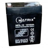 Батарея до ДБЖ Matrix 12V 5AH (NP5-12)