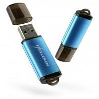 USB флеш накопичувач eXceleram 64GB A3 Series Blue USB 3.1 Gen 1 (EXA3U3BL64)