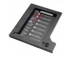 "Фрейм-перехідник Maiwo 2,5"" HDD/SSD SATA3 12.7 mm (NSTOR-12-P)"