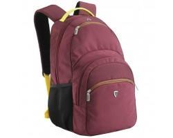 Рюкзак для ноутбука SUMDEX 16'' burgundy-yellow (PON-391OR)