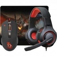 Мишка Defender Devourer MHP-006 kit mouse+mouse pad+headset (52006)