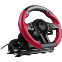 Кермо Speedlink Trailblazer Racing Wheel PC/Xbox One/PS3/PS4 Black/Red (SL-450500-BK)