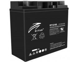 Батарея до ДБЖ Ritar AGM RT12180B, 12V-18Ah, Black (RT12180B)